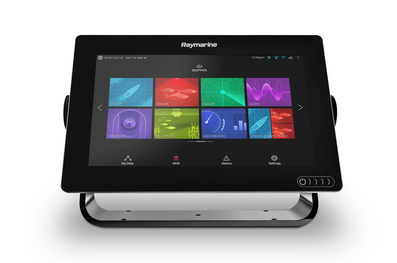 Raymarine Axiom 9 Multifunction Display Front Angle View