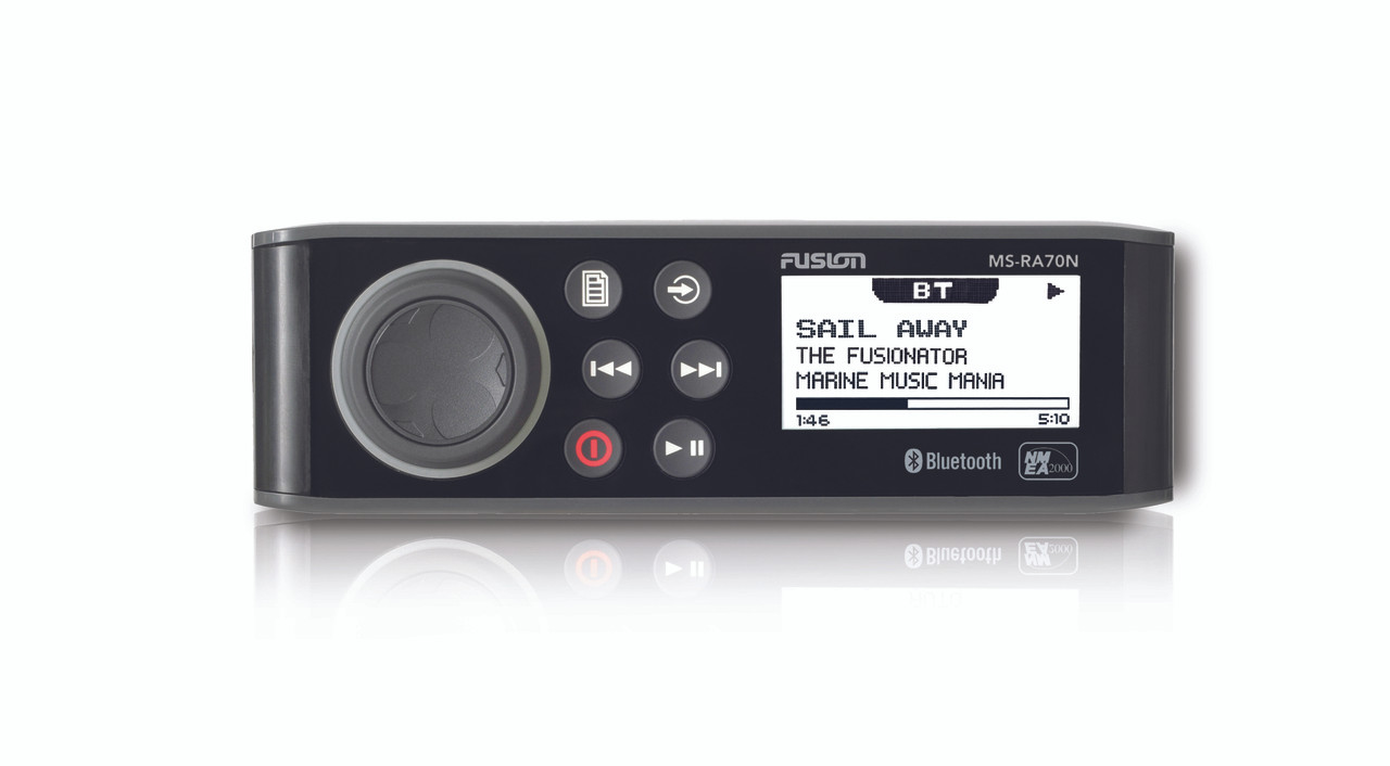 Fusion MS-RA70N Marine Entertainment System Front View