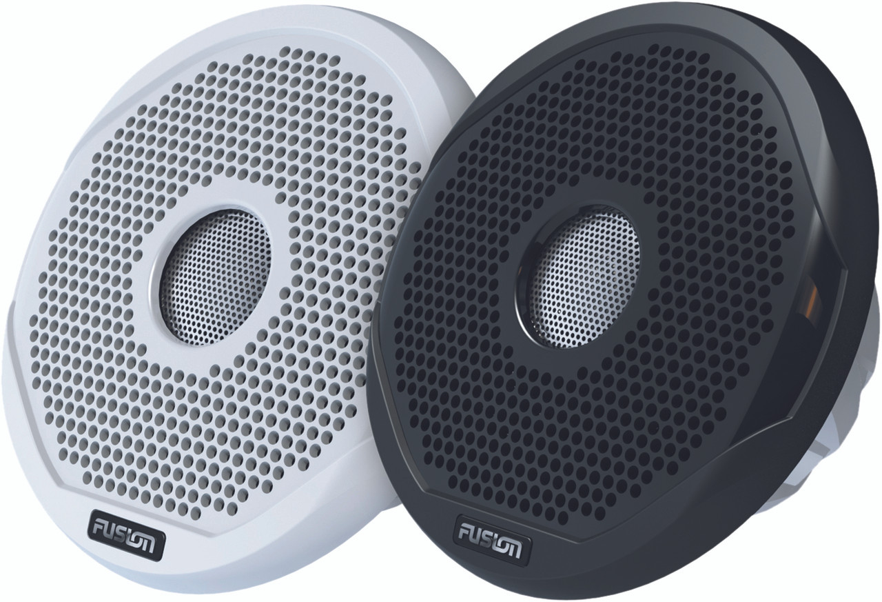 "Fusion MS-FR6021 6"" 200 Watt 2-Way Speakers Black and White"