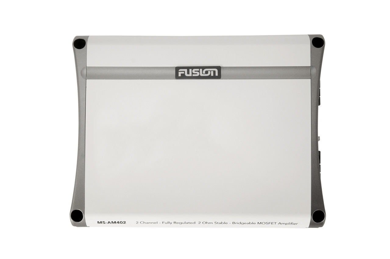 Fusion MS-AM402 2 Channel Marine Amplifier Top