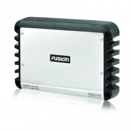 Fusion MS-DA41400 Signature Series 4 Channel Marine Amplifier Left View