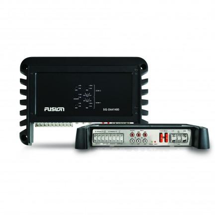 Fusion MS-DA41400 Signature Series 4 Channel Marine Amplifier Back View
