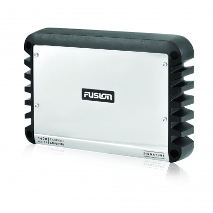 Fusion SG-DA51600 Signature Series 5 Channel Marine Amplifier Left View