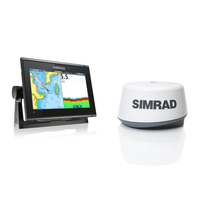Simrad GO9 XSE with TotalScan & 3G Radar