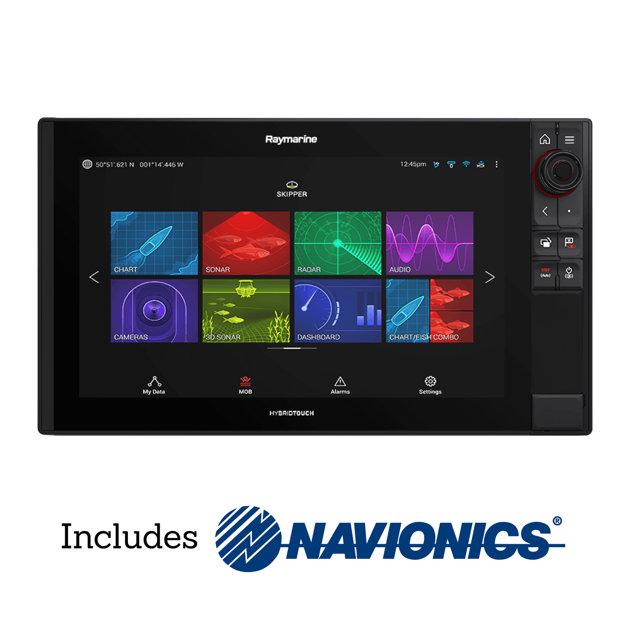Raymarine Axiom Pro 16 RVX Multifunction Display with Navionics+ Small