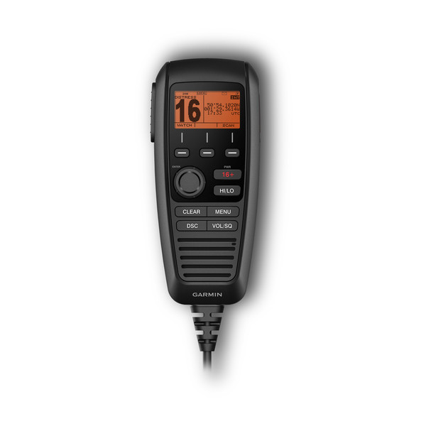 Garmin GHS 11i Wired VHF Handset Front View