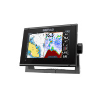 Simrad GO7 XSR Multifunction Display Split