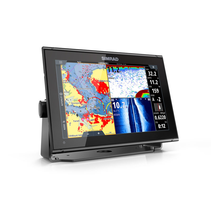 Simrad GO12 XSE Multifunction Display Split