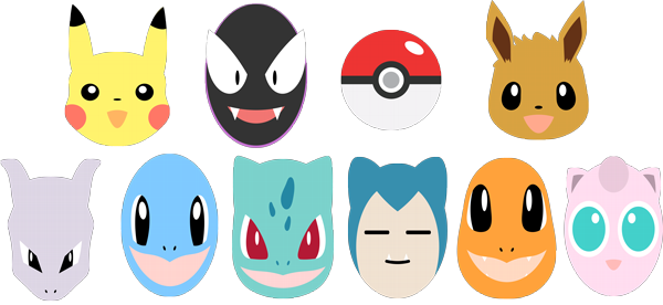 Pokemon go face masks party masks celebrity facemasks com