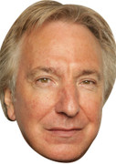 Alan Rickman Celebrity Face Mask