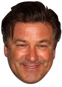 Alec Baldwin Celebrity Face Mask
