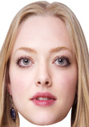Amanda Seyfried Celebrity Face Mask