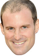 Andrew Strauss Celebrity Face Mask