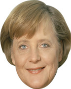 Angela Merkel Politician Celebrity Face Mask