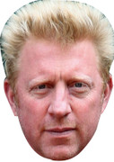 Boris Becker Celebrity Face Mask