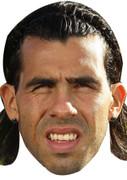 Carlos Tevez Celebrity Face Mask