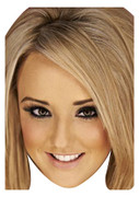 Charlotte Blonde Geordie Shore Celebrity Face Mask