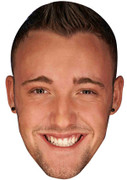Daniel Thomas-Tuck Geordie Shore Celebrity Face Mask