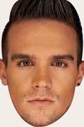 Gaz Geordie Shore Celebrity Face Mask