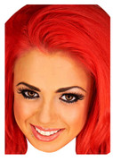 Holly Red Hair Geordie Shore Celebrity Face Mask