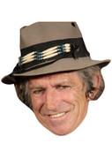 Keith Richards Celebrity Face Mask