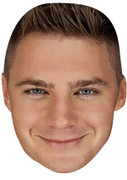 Scott-Timlin Geordie Shore Celebrity Face Mask