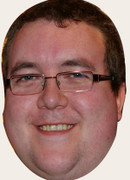Stephen Bunting Celebrity Face Mask