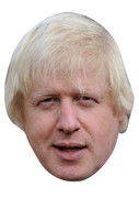 Boris Johnson 2013 Celebrity Face Mask