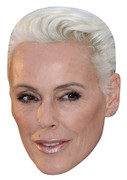 Brigitte Nielsen Celebrity Face Mask