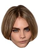 Cara Delavigne Celebrity Face Mask