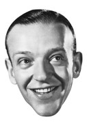 Fred Astaire Celebrity Face Mask