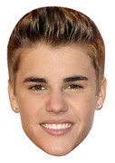 Justin Bieber Mint 2013 Music Celebrity Face Mask