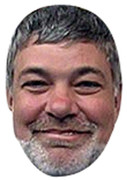 Matthew Kelly Celebrity Face Mask