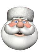 Santa Celebrity Face Mask