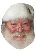Santa 112 Celebrity Face Mask