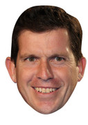 Tim Henman Celebrity Face Mask