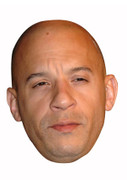 Vin Diesel Celebrity Face Mask