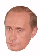 Vladimir Putin Politician Celebrity Face Mask