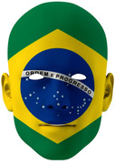 Brazil World Cup Face Mask