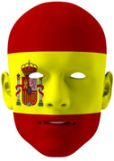 Spain World Cup Face Mask