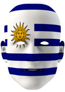 Uruguay World Cup Face Mask