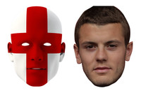 England World Cup Face Mask Pack Wilshere