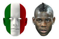 Italy World Cup Face Mask Pack Balotelli