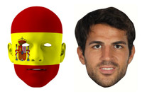 Spain World Cup Face Mask Pack Fabregas