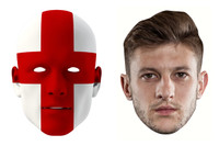 England World Cup Face Mask Pack Lallana