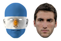 Argentina World Cup Face Mask Pack Higuaín