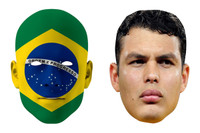 Brazil World Cup Face Mask Pack Thiago Silva