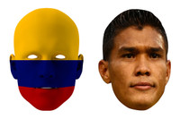 Colombia World Cup Face Mask Pack Teofilo Gutierrez