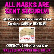 Lennox Lewis Boxer Face Mask