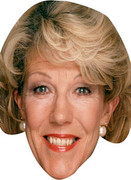 AUDREY ROBERTS TV star Face Mask